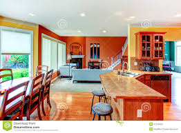 interior design great kitchen dining and living room combinati