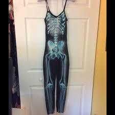 Skeleton Jumpsuit 31 Off Topshop Pants Sold Topshop Skeleton Jumpsuit From