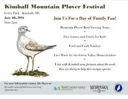 kimball mountain plover festival nebraskaland magazine