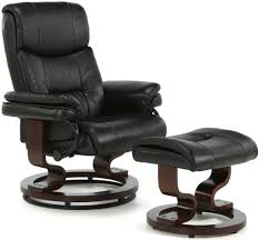 Faux Leather Recliner Buy Serene Moss Black Faux Leather Recliner Chair Cfs Uk