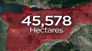Wild Fires In Canada Bc by B C Wildfires More Than 45k Hectares Torched By Blazes Watch