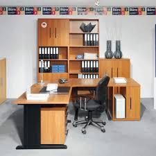 Schreibtisch Buchefarben Schreibtisch Set Levin In Kirschbaum Mit Rollcontainer