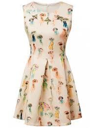 jellyfish dress colorful jellyfish print dress colormix print dresses s zaful