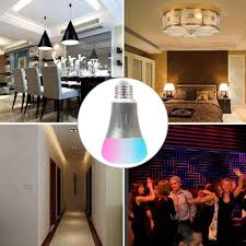 smart lights google home smart wifi light works with alexa echo google home 50w equivalent