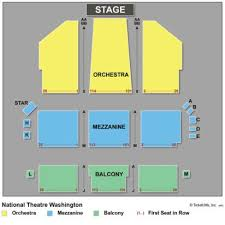 National Theatre Floor Plan Vipseats Com National Theatre Tickets