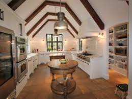 colonial kitchen ideas kitchen marvelous vintage kitchen idea with vaulted ceiling and