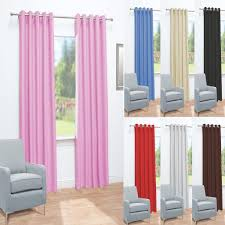 Thermal Energy Curtains Aird Eyelet Thermal Energy Saving Blackout Ready Made