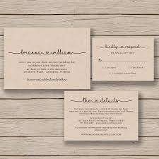 wedding invitation template rustic wedding printable editable