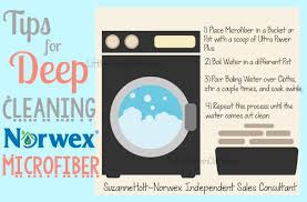 how to deep clean how to deep clean norwex microfiber