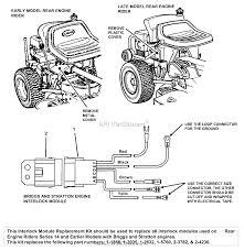 snapper 7063064 interlock module kit r e r briggs u0026 stratton