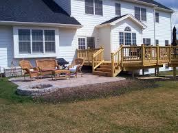 Decking Ideas For Sloping Garden Backyard Backyard Covered Decks Back Yard Decks Small Backyard