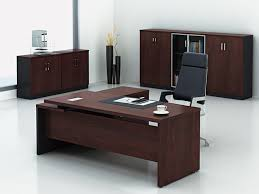 bureau de direction avec retour master office