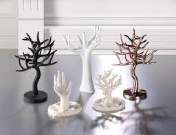 necklace organizer stand images Tree branch jewelry stand unique lady jewelry stand rose gold jpg