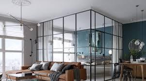 cloison cuisine salon separation en verre cuisine salon separation cuisine salon vitree