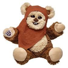 build your own teddy build a wicket the ewok is cuddly yub nub bears starwars