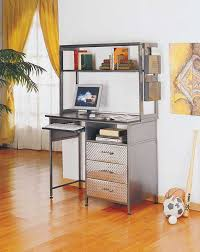Desk For Small Rooms Home Decor Small Blacke Desk In The Corner Room With Bookshelf And