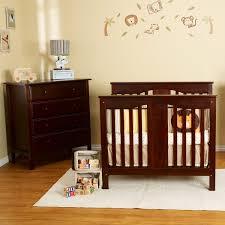 Mini Crib With Changing Table by Bedroom U0026 Bedding Luxury Theme Davinci Annabelle Mini Crib Design