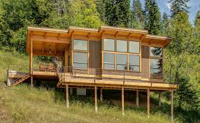 modern cabin plans moderncabin ultra modern cabin blends rustic this timber framed cabin has modern lines and an shell there is