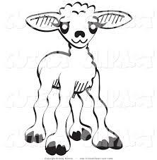 legz clipart lamb pencil and in color legz clipart lamb