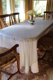 Dining Room Tablecloth Radiate Beauty With Shimmering Radiance Overlays By Premier Table