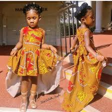 gown style dresses ankara styles for babies 19 adorable ankara dresses for kids 2017