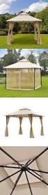 Home Depot Patio Gazebo by Awning Cover Gazebo Replacement Canopy Garden Winds Gazebo