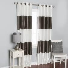 Blackout Curtains White White Grommet Blackout Drapes Business For Curtains Decoration