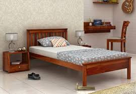 single beds buy wooden single bed online india upto 60 off