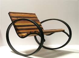 outdoor wood rocking chairs fantastic modern wooden rocking chair