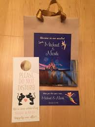 Welcome Baskets For Wedding Guests Your Disney Wedding Guests Make The Most Of Their Vacation