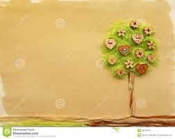 tree craft stock illustration image 63691840