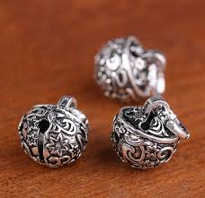 sterling silver bell charms jingle bells