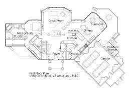 100 a frame lake house plans house plans walkout basement
