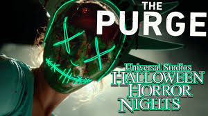 when is halloween horror nights 2016 purge gauntlet halloween horror nights 2016 full walkthrough