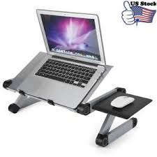 Bed Laptop Desk Desk Folding Laptop Notebook Adjustable Table Stand Tray For