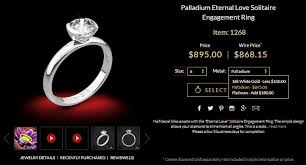 palladium ring price palladium vs platinum vs white gold what are the differences