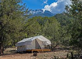 Building A Tent Platform Platform Tent U2013 Crestone Retreats