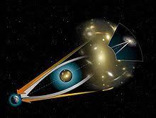 How Many Years Is A Light Year Gravitational Lens Wikipedia