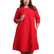 mature women fashion three quater sleeve mini dress female lovely