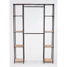 trinity expandable closet organizer 56