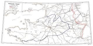 Brussels Germany Map Hyperwar Us Army In Wwii The Lorraine Campaign
