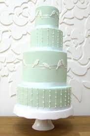 24 gentle mint green colored wedding cakes weddingomania