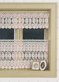 dogwood macrame lace tier curtains by heritage lace paul u0027s home