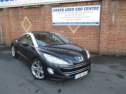 peugeot rcz 2012 used peugeot rcz grey for sale motors co uk