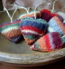 114 best 2015 craft felted wool ornaments images on