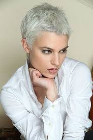 pixie grey hair styles short hairstyles for grey hair gallery awesome 30 very short pixie