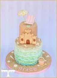 30 best beach images on pinterest birthday cakes sand castle