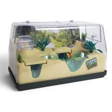 amazon com backyard safari 2 in 1 habitat toys u0026 games