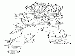 dbz coloring pages gohan kids coloring