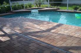 brick pavers installed on driveways swimming pool deck patios
